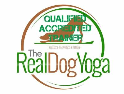 Real Dog Yoga Accredited Trainer Denise Price Bedfordshire